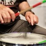 ズボンがドラムになるウェラブル楽器、言語障がい者のVOCAになる!『DrumPants TACS』