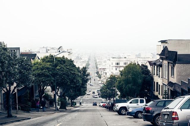 坂道のある街