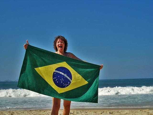 リオのビーチ